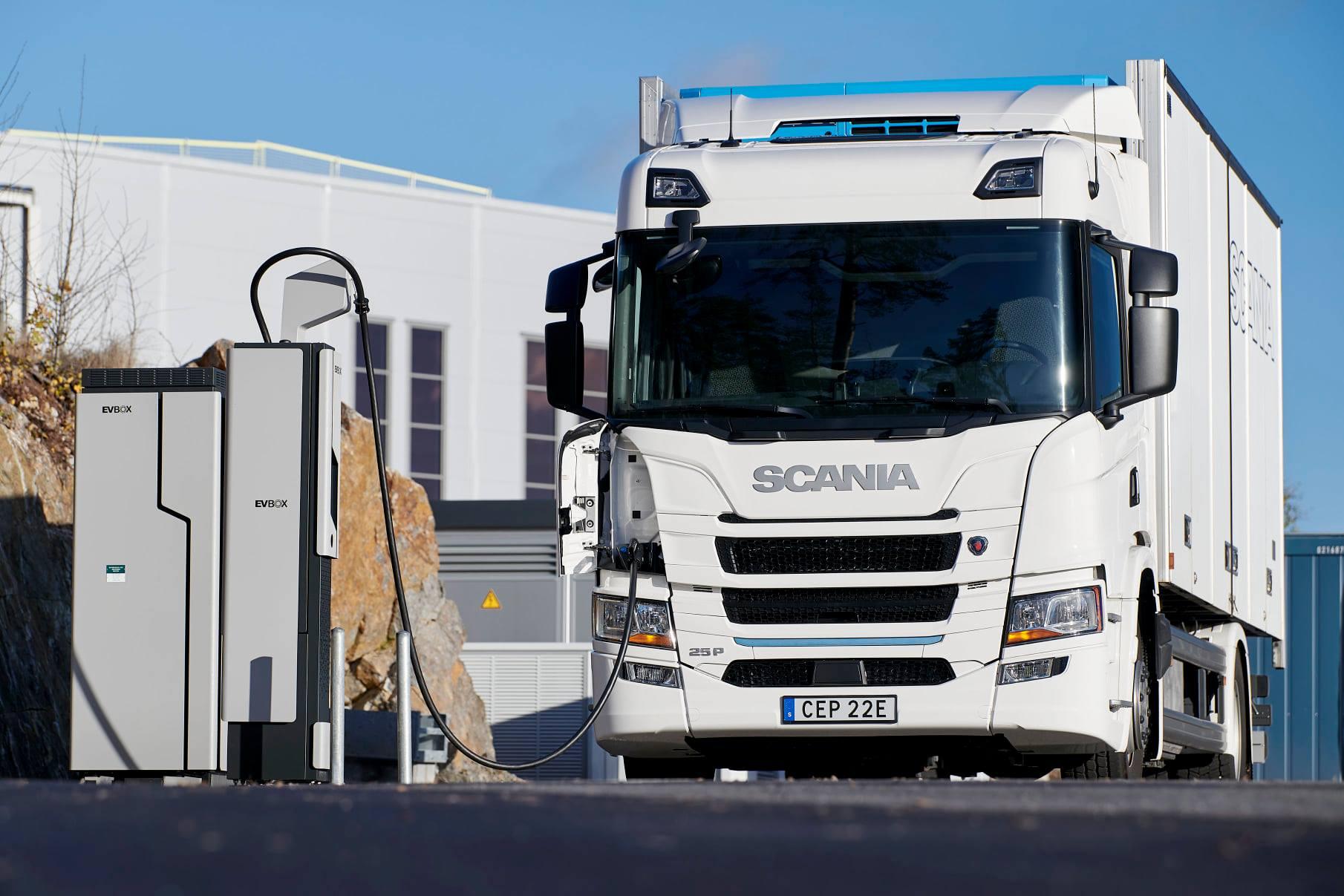 Scania и ENGIE объединяют усилия для развития инфраструктуры зарядных станций под электрогрузовики и автобусы