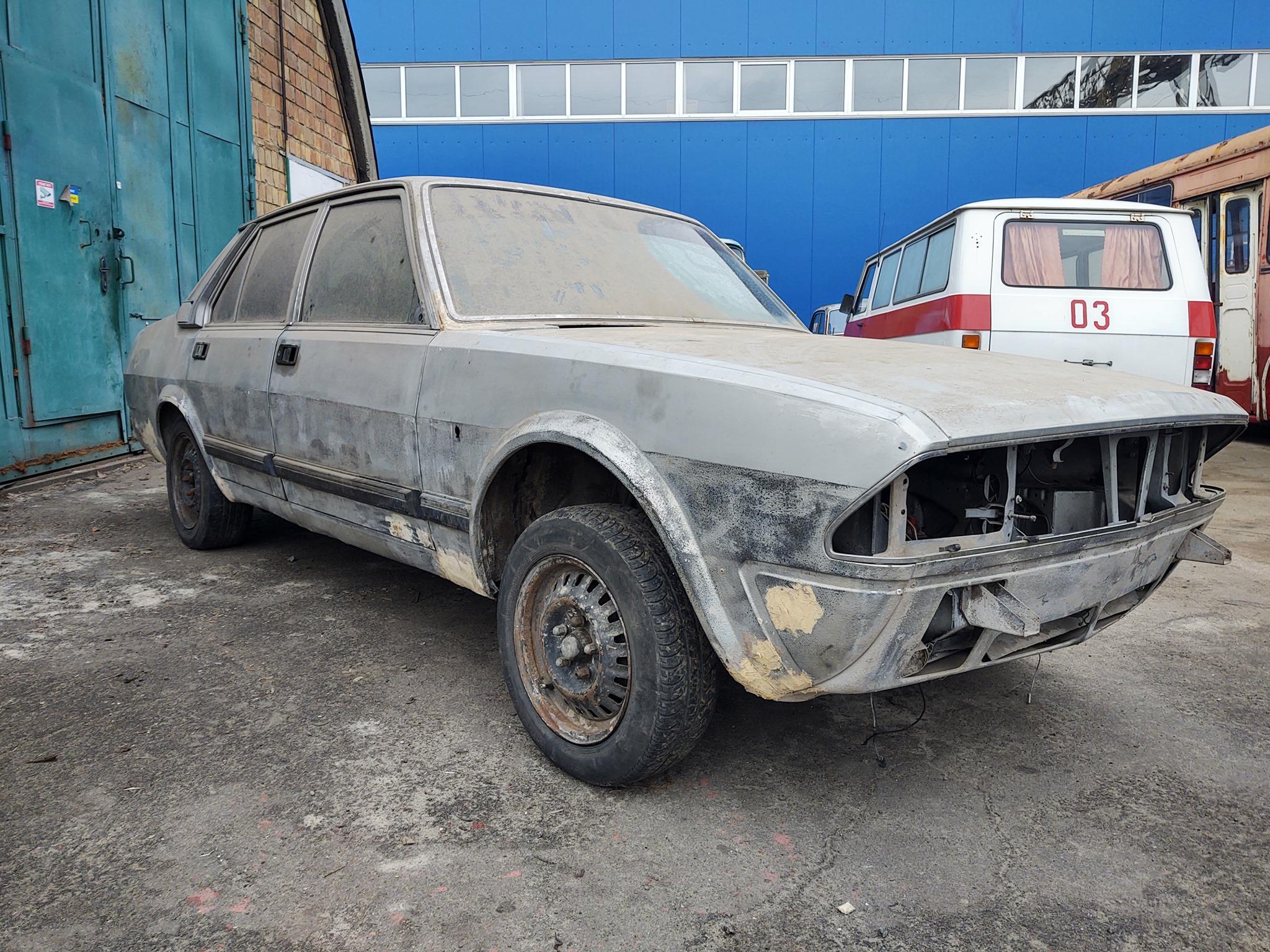 В Украине спасли редкий автомобиль Alfa Romeo (фото)