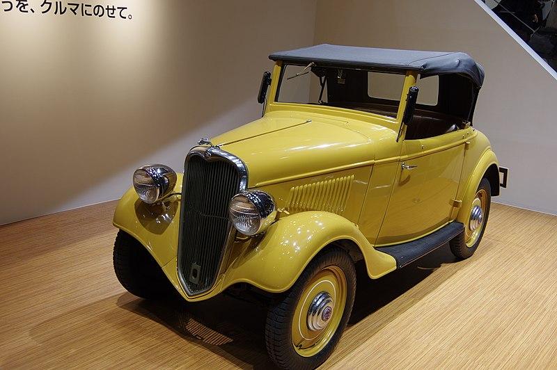 Первые автомобили Nissan – от микролитражки до дизельного грузовика