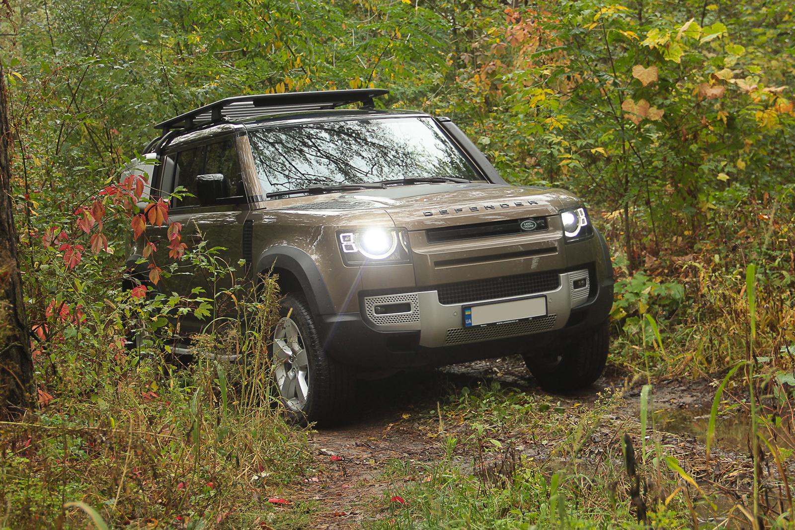 """Тест-драйв Land Rover Defender: новый """"защитник"""" уже не тот?"""