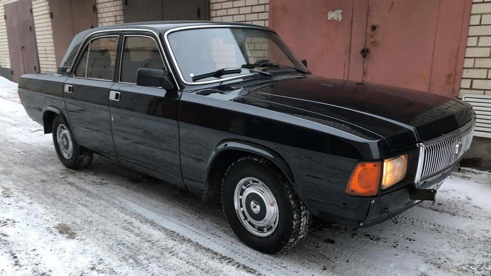 На продажу выставили Волгу КГБ с двигателем V8 под капотом