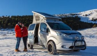 Nissan показал электрический кемпер для зимнего отдыха