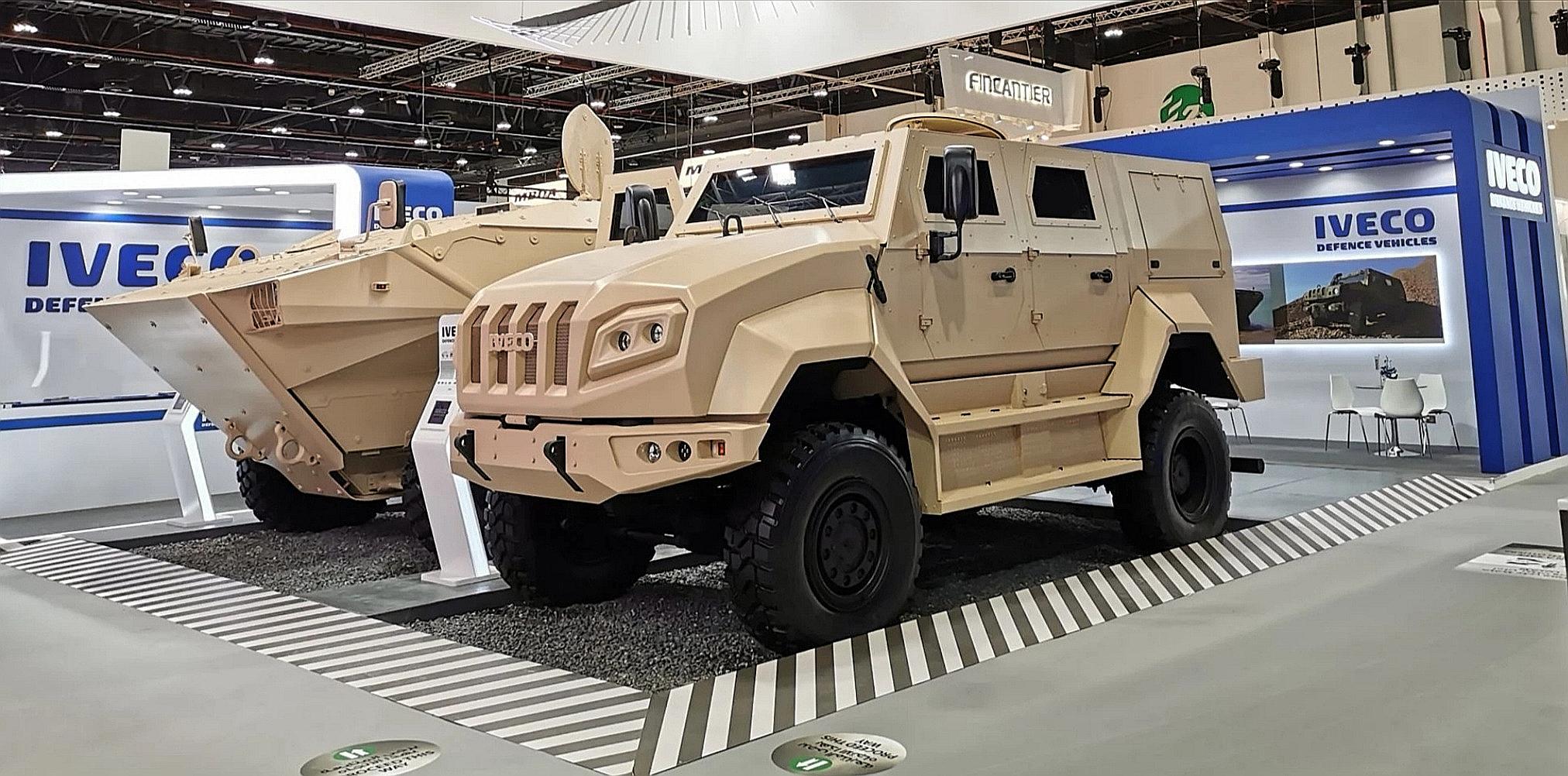 Премьеры IDEX-2021: бронеавтомобили Iveco Defence выходят в новый класс