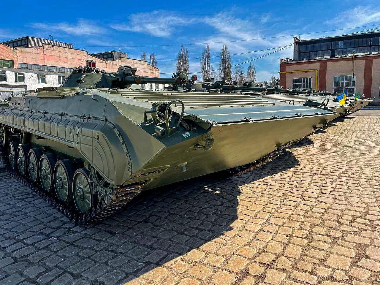 Польская бронетехника пополнит Вооруженные силы Украины