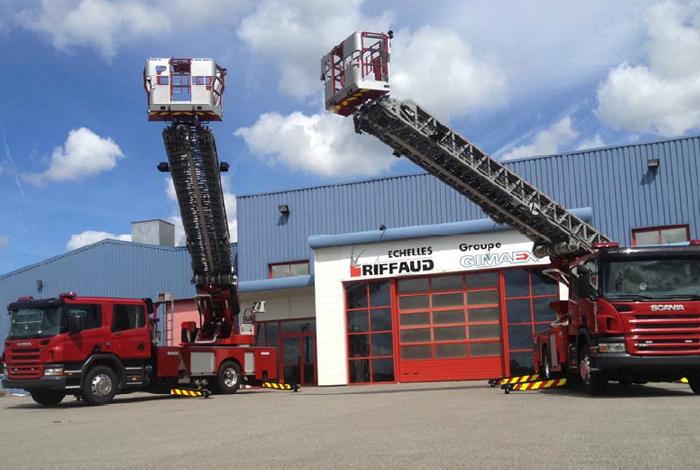 Украина и Франция договорились о производстве пожарных автолестниц