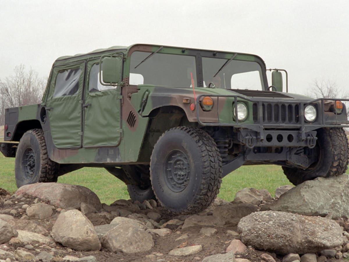 Как армейский автомобиль обогнал Lamborghini