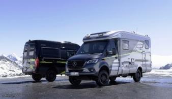 Hymer презентовал новые кемперы на базе Mercedes-Benz Sprinter 4x4