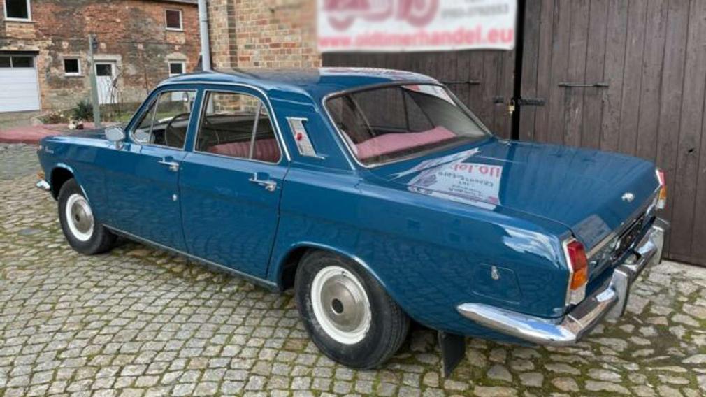 Найденный в Германии ГАЗ-24 продают по цене Renault Logan