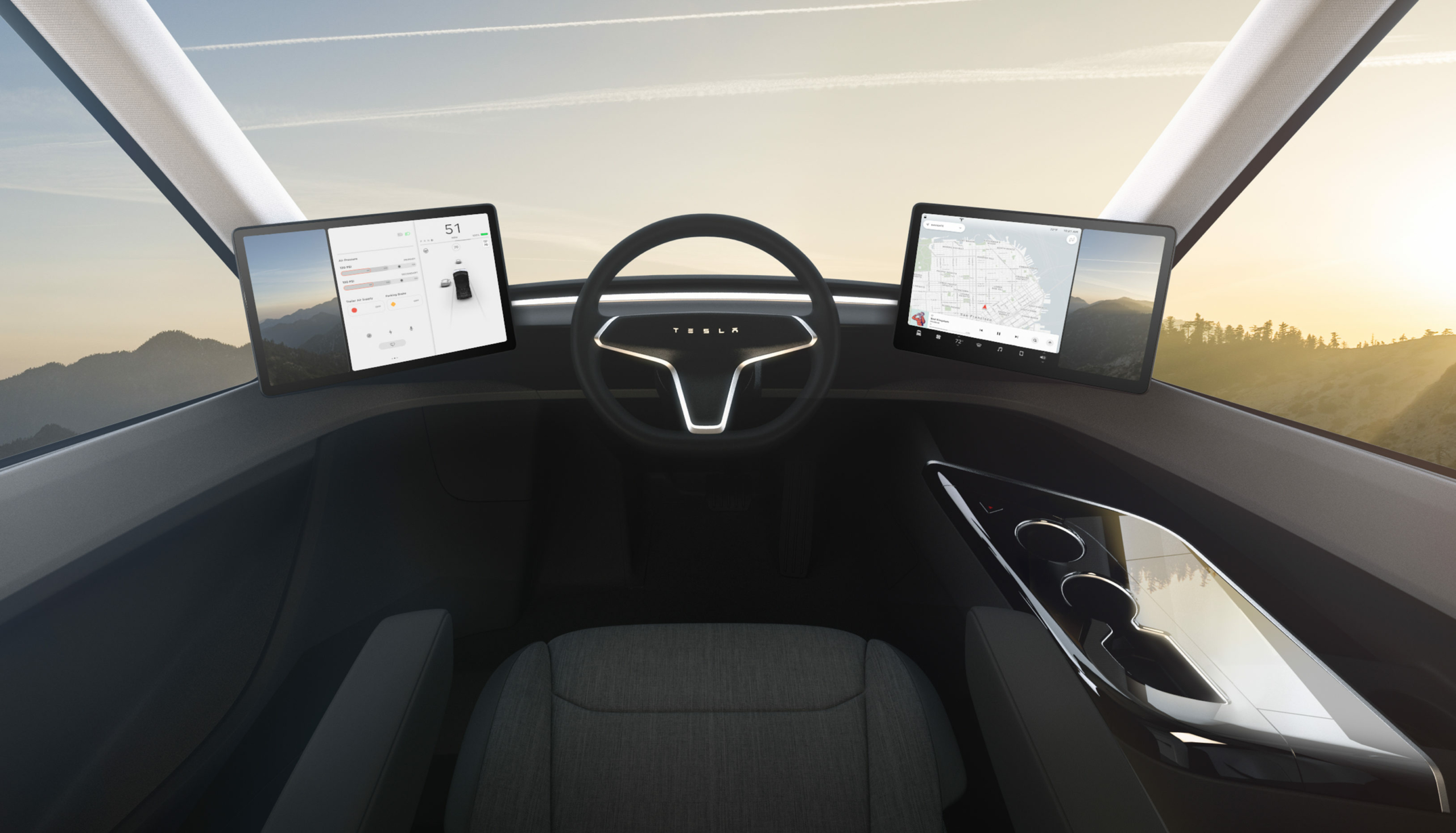 Тягачи Tesla Semi испытают в качестве лесовозов