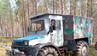 Старая Ока превратилась в огромный грузовик для бездорожья