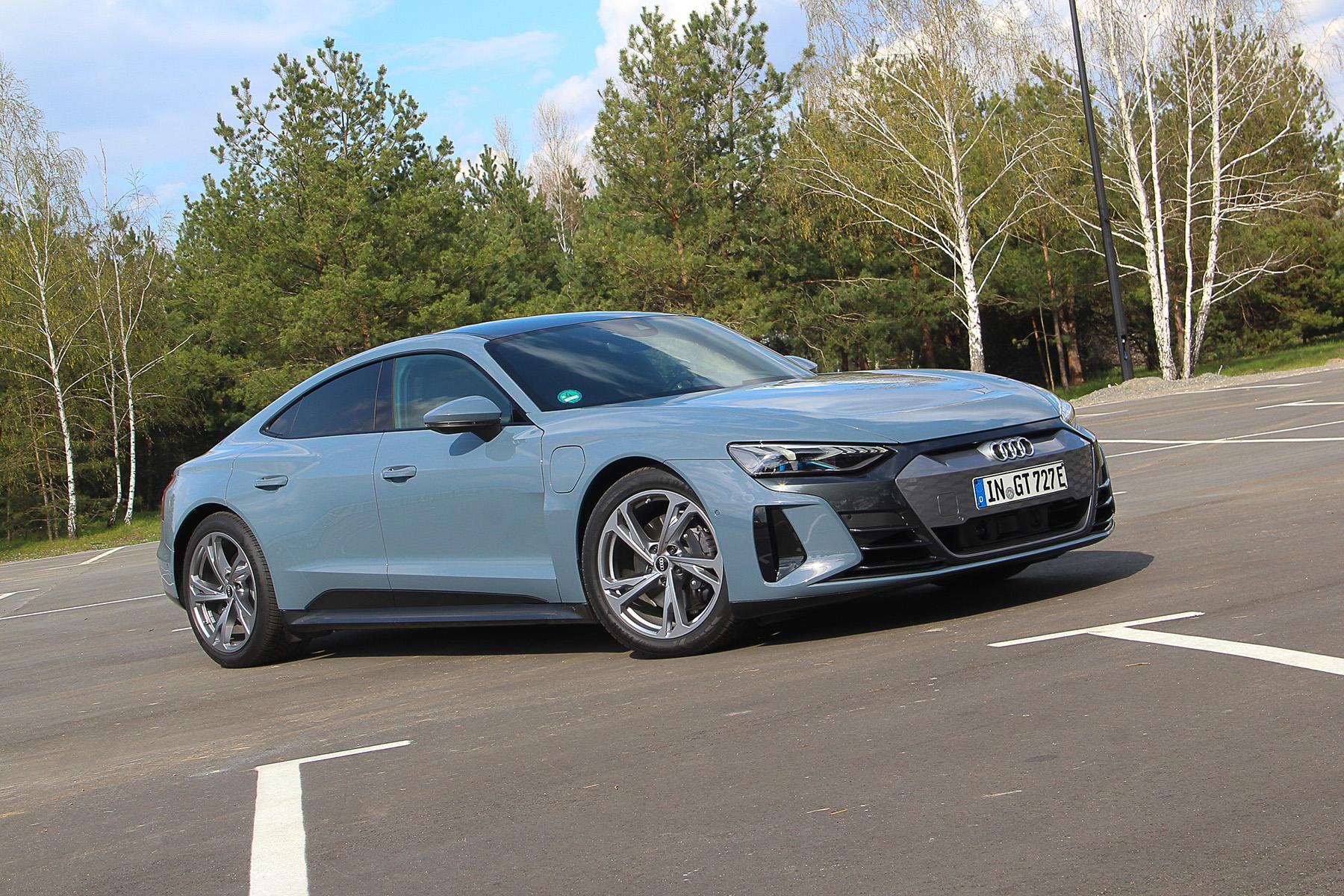 Тест-драйв Audi e-tron GT quattro: спортивный электромобиль на каждый день?