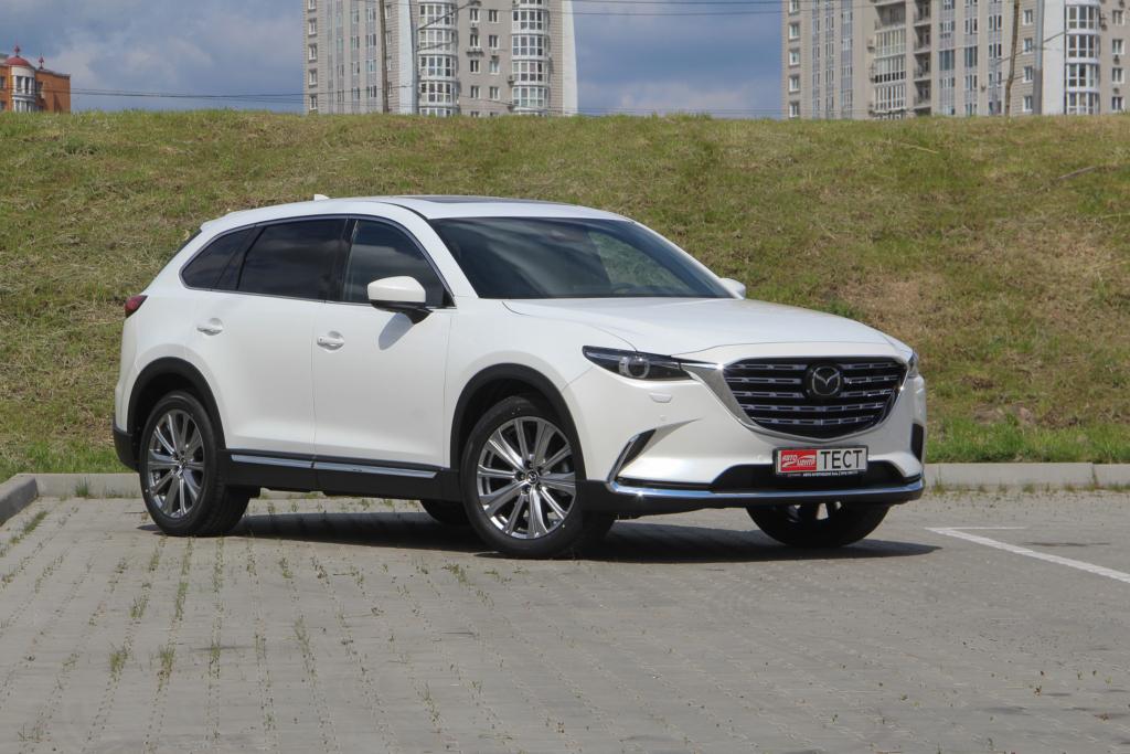 Тест-драйв Mazda CX-9 2021: пробуем найти все обновления кроссовера (видео)