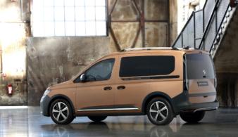 Volkswagen Caddy пятого поколения предстал в версии PanAmericana