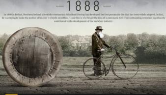 Невероятная история: как родились пневматические шины