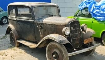 Настоящая капсула времени: в Украине найден 85-летний автомобиль Opel P4