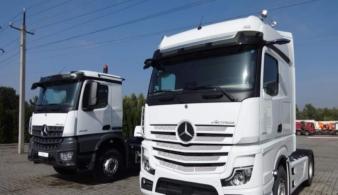 На грузовые автомобили Mercedes-Benz введены новые cпециальные цены