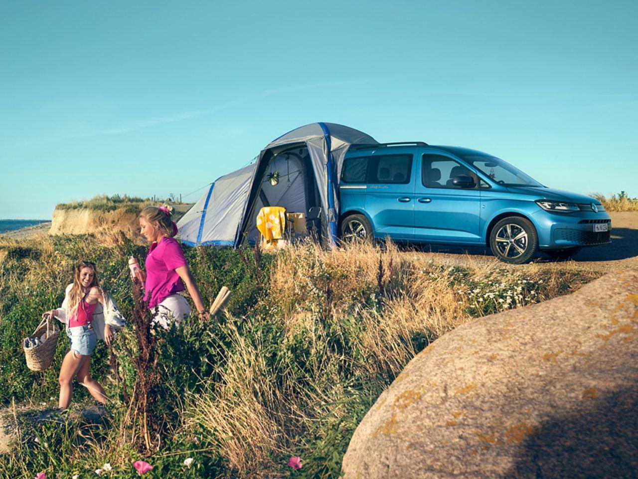 Volkswagen показал миникемпер на Caravan Salon 2021