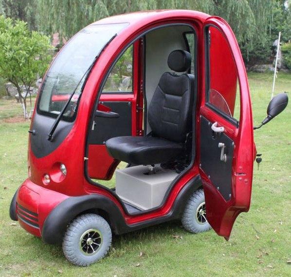 Миниатюрный электромобиль с необычным дизайном всего за 100 долларов 2