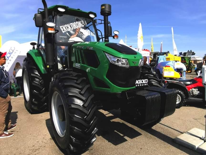 На выставке AGRO Vinnytsia презентовали эксклюзивный трактор