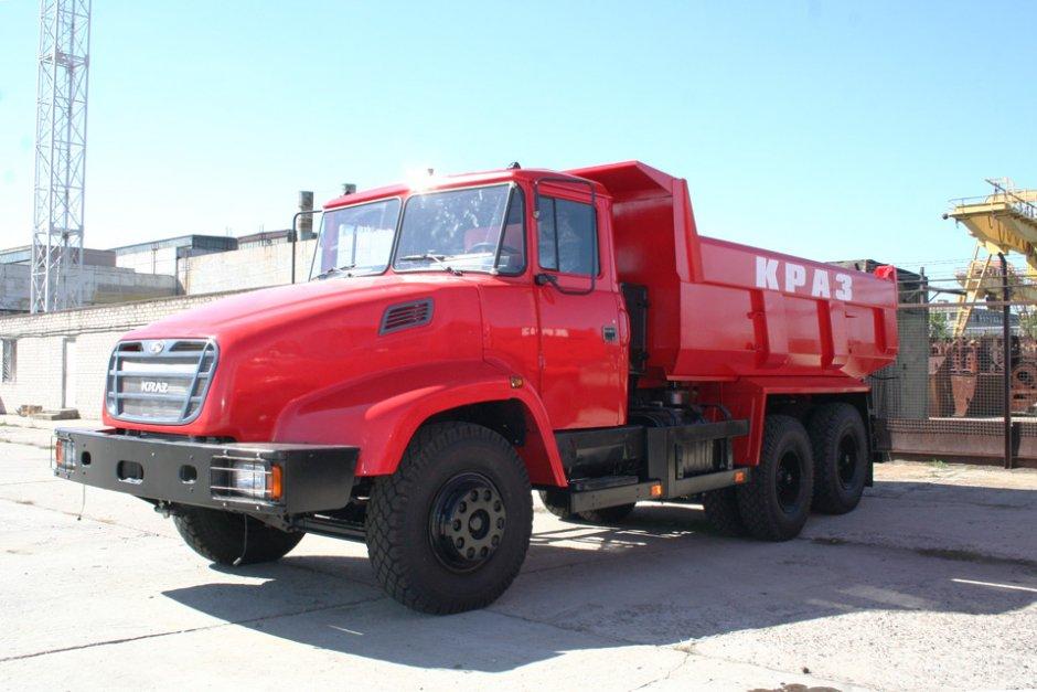 КрАЗ модели 65055